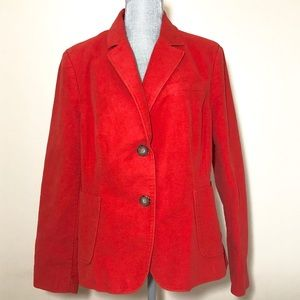 NWOT Boden bright red blazer